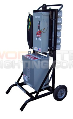 portable distribution cart