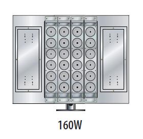 160w LED flood lighting