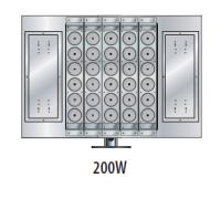 200W variable high power LED flood lights