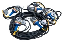 2600 – LED Series Stringlights – Available with 5, 8, 10 lamps