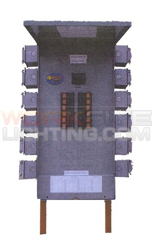 portable power distribution panel