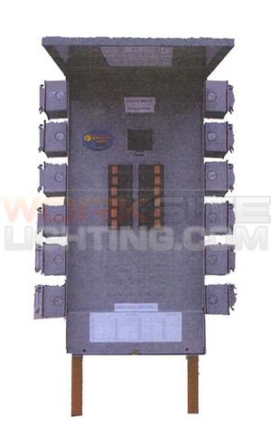 portable power distribution panel